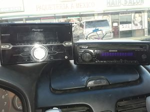 Car stereos with harness for Sale in Houston, TX