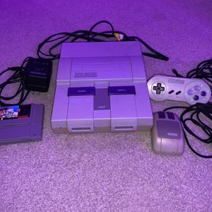 Original Super Nintendo System SNES Bundle for Sale in Issaquah, WA