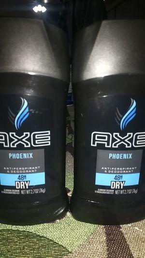 Axe Phoenix antiperspirant deodorant $3 each for Sale in Moreno Valley, CA