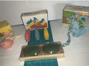 Bundle Of 4 Avon Decorative Soaps- Soap On A Rope, Snow Buggy, Guest Bathroom for Sale in San Diego, CA