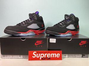 Jordan 5 Top 3 Multiple Sizes 12,12.5,13 for Sale in Irvine, CA