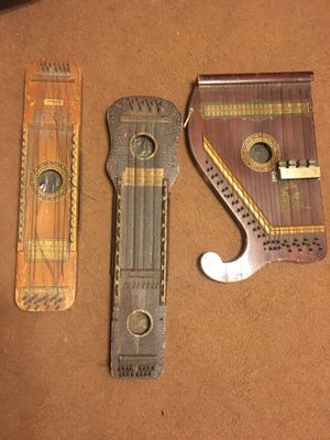 Three antique musical instruments for Sale in Akron, PA