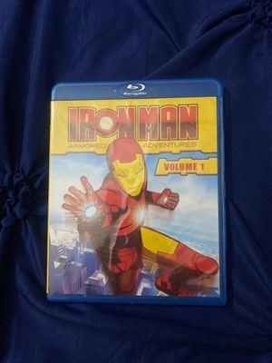 Iron Man Armored Adventures Volume 1 Blu-ray Disc for Sale in Brooklyn, NY