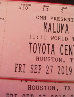 2 Maluma tickets for Sale in Humble, TX