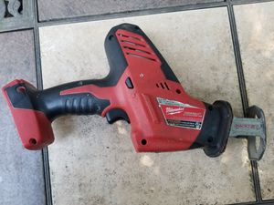 Milwaukee m18 hackzall for Sale in Berea, OH