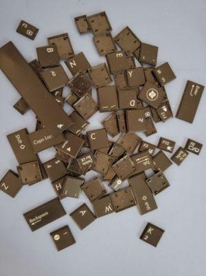 Black Keyboard Keys - Complete Set for Sale in Lewisville, TX