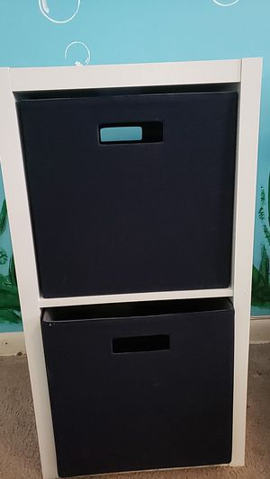 2 cube storage with cloth drawers for Sale in Annandale, VA