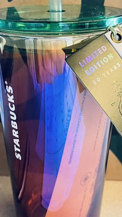 Starbucks Glass 50th Anniversary Limited Edition for Sale in Camano,  WA