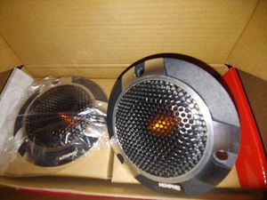 "Car tweeters : MEMPHIS 4"" component pro tweeters 400 watts max power per pair for Sale in Huntington Park, CA"