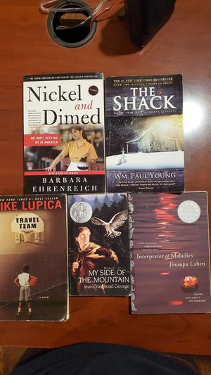 THE SHACK,TRAVEL TEAM,MY SIDE OF MOUNTAIN, INTERPRETER OF MALADIES for Sale in Torrance, CA