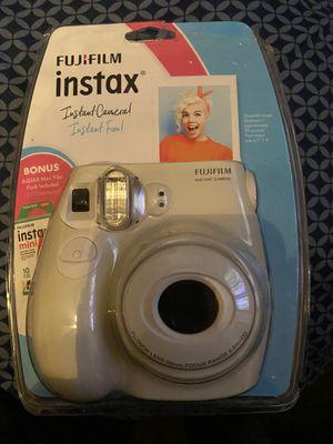 Brand New FujiFilm Instax Camera w/ Photo Paper for Sale in Fresno, CA