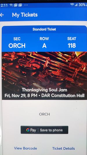 Thanksgiving Soul Jam for Sale in Washington, DC