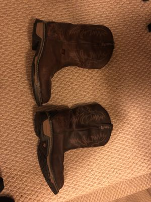 Tony Lama steel-toes boots (brown) for Sale in Alexandria, VA