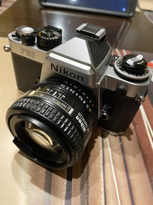 Nikon FE2 film camera with 50 mm 1.4D lens for Sale in Sacramento, CA