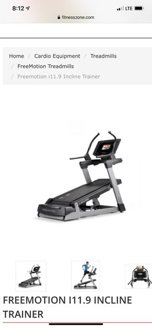 Free motion incline trainer with embedded tablet console for Sale in Mount Airy, MD