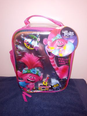 Trolls World Tour lunch box for Sale in Louisville, KY