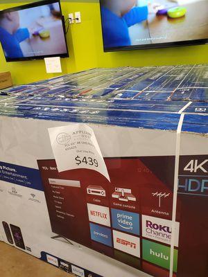 "TCL 65"" 4K UHD Roku TV for Sale in La Verne, CA"