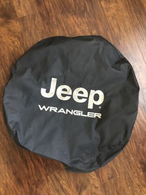 Jeep Wrangler spare tire cover for Sale in Doylestown, OH