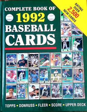 Complete Book Of 1992 Baseball Cards for Sale in Lacey, WA