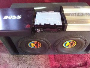 Car audio sound for Sale in Los Angeles, CA
