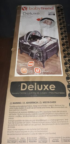 New Playpen+Bassinet + Changing Table for Sale in Tampa, FL