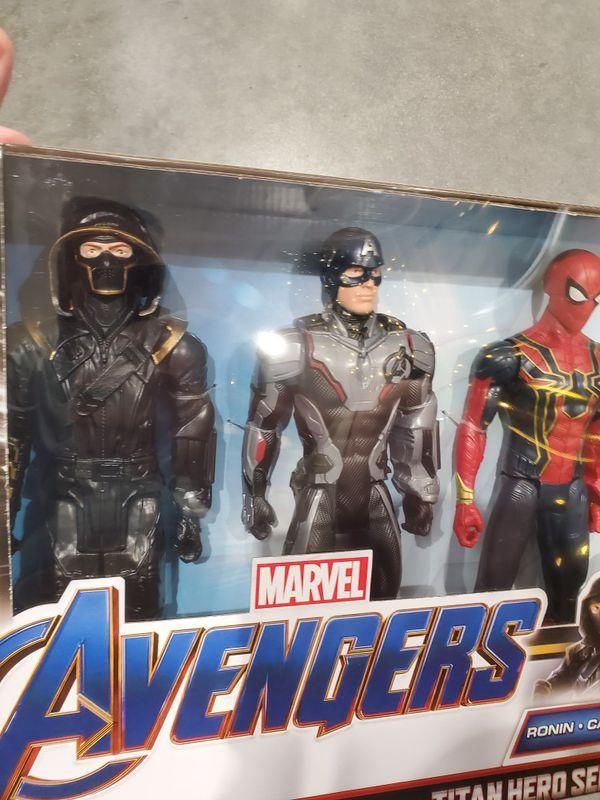 Ronin Captain America Spider Man Ant Man Avengers Action Figure