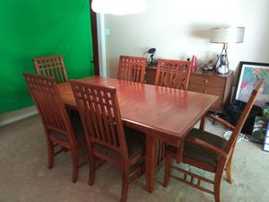 Dining Room Table w/6 Chairs and Leaf for Sale in Paducah, KY