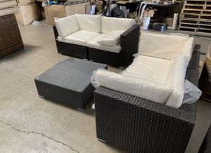 Patio furniture conversational set 299$$ no assemble needed for Sale in Rancho Cucamonga, CA