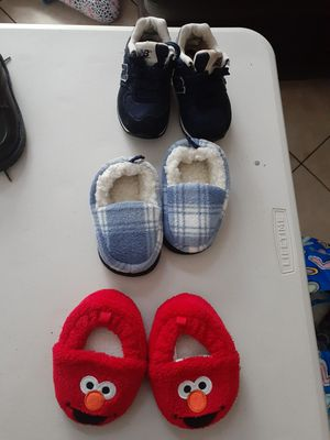 3 Pairs boy shoes for Sale in Margate, FL