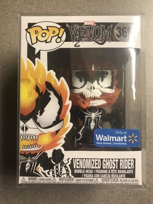 Venomized Ghost Rider Funko Pop Walmart Exclusive 369 NEW with Protector for Sale in Addison, TX