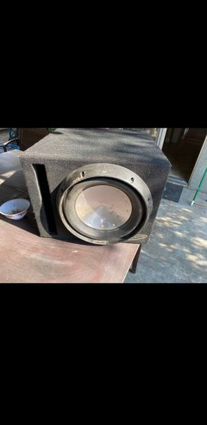 Rockford fosgate subwoofer with box for Sale in Turlock, CA