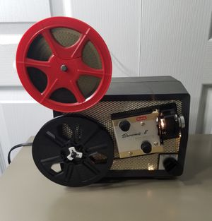 Kodak Brownie 8 Movie Projector Model 10 w/ Box, Manuel, Reel, Movies, Screen for Sale in Wimauma, FL