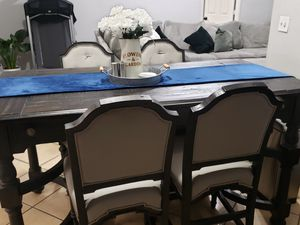 Wooden kitchen table for Sale in Selma, CA