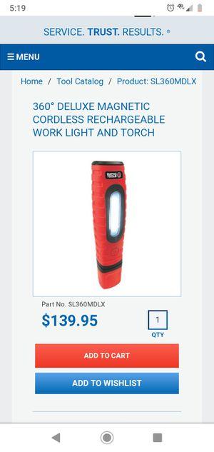 Brand New matco light for Sale in Wimauma, FL