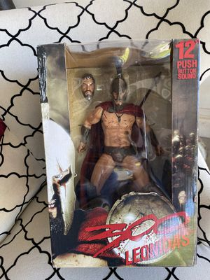 300 King Leónidas Action Figure for Sale in Buckeye, AZ