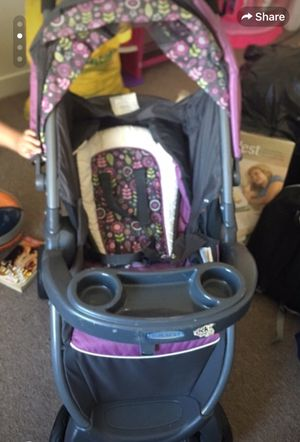 Stroller and car seat set Graco brand for Sale in San Francisco, CA