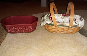 Longaberger Basket & Pottery for Sale in Middle River, MD