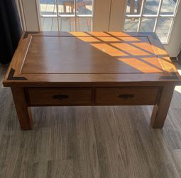 Solid Wood Coffee Table & Side Table for Sale in Houston,  TX
