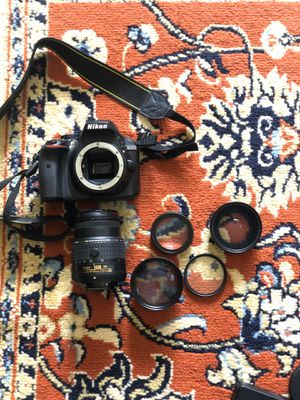 Nikon D3300 DSLR Camera: Great for beginners for Sale in Alexandria, VA