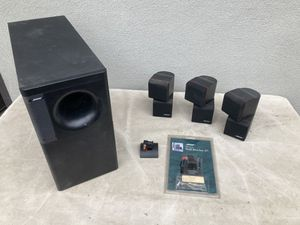 Bose Acoustimas Subwoofer and 3 Double Cubes for Sale in Los Angeles, CA