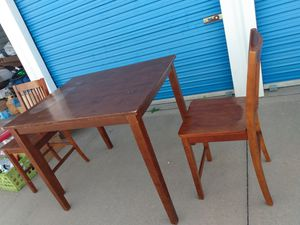 Kitchen table two chairs for Sale in Wichita, KS