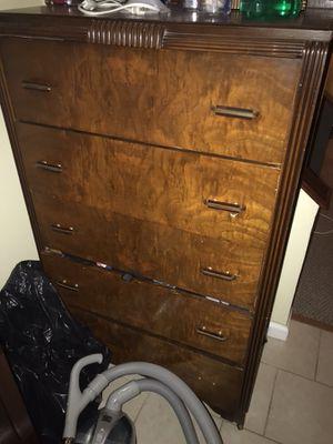 5 cabinet dresser for Sale in Rockville, MD