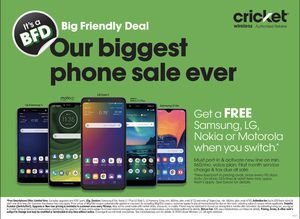 Cricket Wireless!!! for Sale in Mesquite, TX