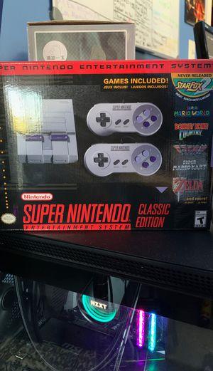 Super Nintendo Entertainment System (SNES) Classic Edt. for Sale in El Monte, CA