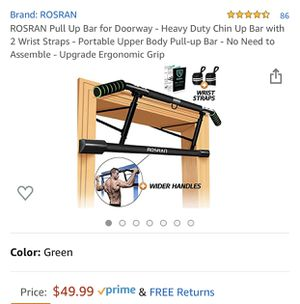New Pull Up Bar for Sale in Irvine, CA