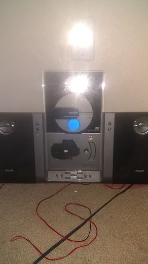 Philips Micro system/home stereo for Sale in Austin, TX