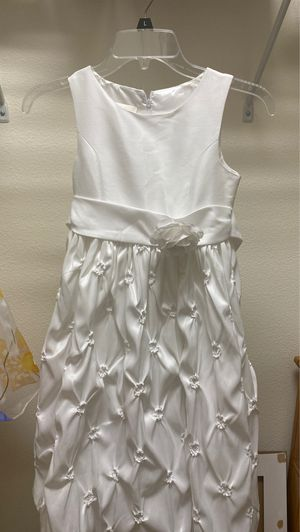 White dress for confirmation or for a flower girl for Sale in Sanford, FL
