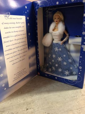 Collectors Barbie - Snowflake for Sale in Stafford, TX