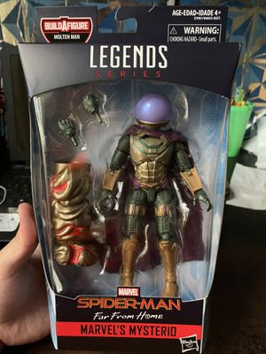 Marvel Legends Far From Home Mysterio Figure for Sale in Clovis, CA