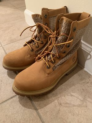 Timberland women Knit side boots size 6 for Sale in Arlington, VA